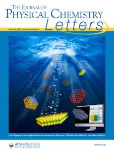 Cover image of J. Phys. Chem. Lett.